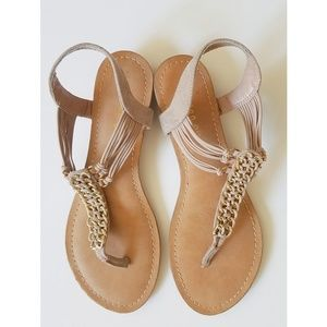 Steve Madden | Jeweled Macrame Sandals